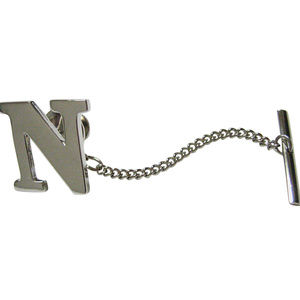 Letter N Tie Tack